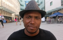 Aliou Toure of the band Songhoy Blues